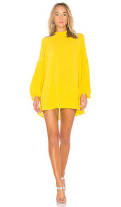 yellow dress free drift away solid dress in yellow revolve