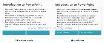introduction to powerpoint choosing a slide layout in powerpoint the training lady