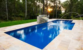 Deep Backyard Pool by Picking The Perfect Pool Rectangular Vs Free Form Leisure Pools Usa