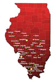 Springfield Illinois Map by Locations Prairie Cardiovascular