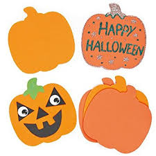 foam pumpkins foam pumpkins pack of 16 co uk toys