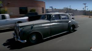 roll royce garage 1958 rolls royce silver cloud with ls7 v8 visits leno u0027s garage