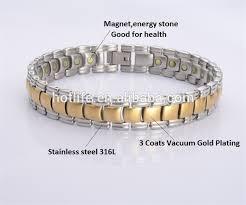 energy bracelet magnetic images 2018 magnetic stainless steel energy bracelet for men tanishq jpg