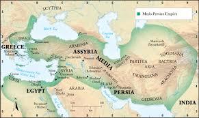 Babylonian Empire Map Nebuchadnezzar Planet Zion