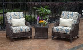 All Weather Wicker Patio Furniture Sets Mila Collection 2 Person All Weather Wicker Patio Furniture Chat