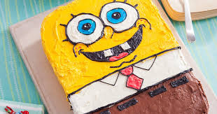 spongebob squarepants cake spongebob birthday cake recipe nickelodeon parents