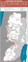 West Bank Map Palestine