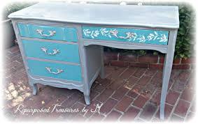 sold sold vintage desk beachy desk stenciled desk