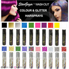 Halloween Hair Color Washes Out - wash out hair spray ebay