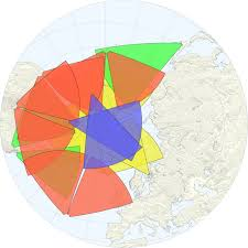 Northern Hemisphere Map Apl Part Of International Team Expanding Space Weather Radar Network