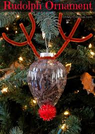 rudolph ornament craft ornament easy and creative