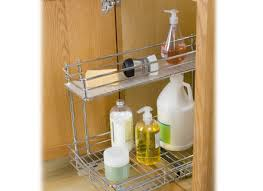 lynk under cabinet storage shelves sublime lynk roll out under sink cabinet organizer pull