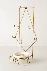 Anthropologie Side Table by Chic Jewelry Stands With Sculptural Style