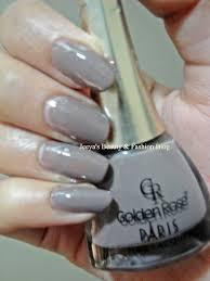 jeeya u0027s beauty u0026 fashion blog notd u0026 review golden rose nail