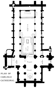 Cathedral Floor Plan Bell U0027s Cathedrals The Cathedral Church Of Carlisle By C King Eley