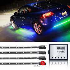 neon lights for trucks 8pc advanced 3 million color remote control led light kit for cars