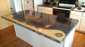 Resurfacing Kitchen Countertops Kitchen Concrete Kitchen Countertops Within Gratifying Diy