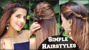 1 min cute everyday effortless hairstyles for college