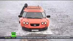 amphibious truck rt aton impulse viking amphibious off road vehicle 1080p youtube
