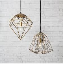 roxbury gold wire cage pendant light pendant light