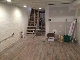 Laminate Flooring In A Basement Beautiful And Durable Basement Flooring Ceramic Wood Tiles
