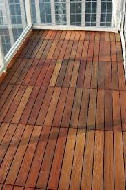 hardwood deck tiles deck tile floor interlocking wood deck tiles