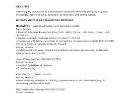 electrician helper resume skills resume example electrician