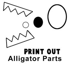 letter a alligator making craft project for kindergarteners for