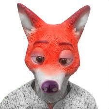 latex masks halloween online buy wholesale latex fox mask from china latex fox mask