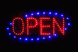 led open sign free stock photo public domain pictures