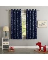 Silver And Blue Curtains 62