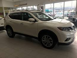 silver nissan rogue 2015 used 2015 nissan rogue sl in kentville used inventory
