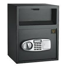 paragon lock and safe digital depository front load 0 95 cf
