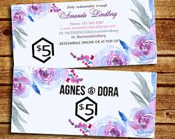 gift cards for small business agnes and business cards agnes marketing kit