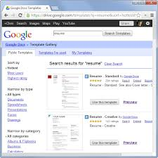 Google Resume Builder Free Free Google Resume Templates How To Create Professional Looking