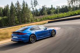 2018 porsche panamera turbo s e hybrid first drive review motor