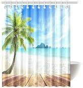 palm tree shower curtain shopstyle