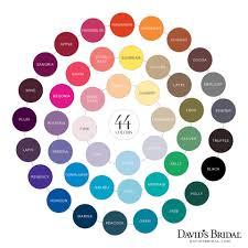 Begonia Bridesmaid Dresses David U0027s Bridal Color Chart Horizon Malibu Oasis U0026 Begonia Are