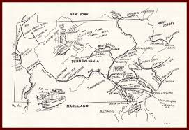 Pennsylvania On The Map by The Wiconisco Canal And The Pennsylvania Canal System U2013 Lykens