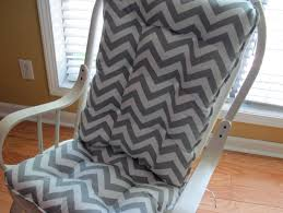 Rocking Chair Pads For Nursery Wooden Rocking Chair Cushions For Nursery Home Design Ideas