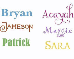 zspmed of wall decal letters
