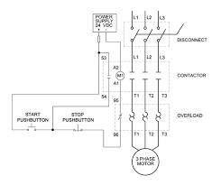 wiring wiring diagram of wiring 3 phase motor starter 15749