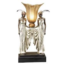 Uplight Table Lamp Shop Design Toscano 20 In Bronze Uplight Table Lamp With Plastic