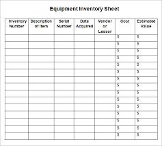 sample of inventory sheet u2013 software top download