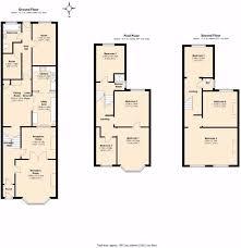 uk house floor plans uk terraced house floor plans escortsea
