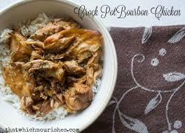 crock pot bourbon chicken that which nourishes