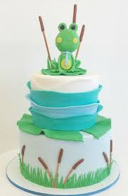 frog baby shower baby shower cakes fluffy thoughts cakes mclean va and