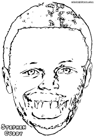 nba players coloring pages stephen curry coloring pages coloring pages to download and print