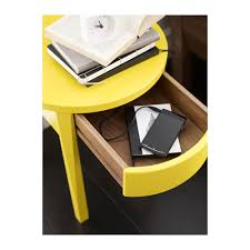 Yellow Side Table Perfect Yellow Side Table Ikea With Stockholm Bedside Table Ikea