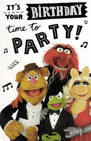 the muppets time to birthday card cards kates
